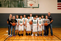 7th Grade Boys Basketball 2017